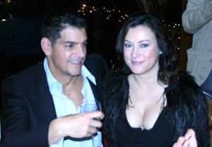 Don Mancini and Jennifer Tilly